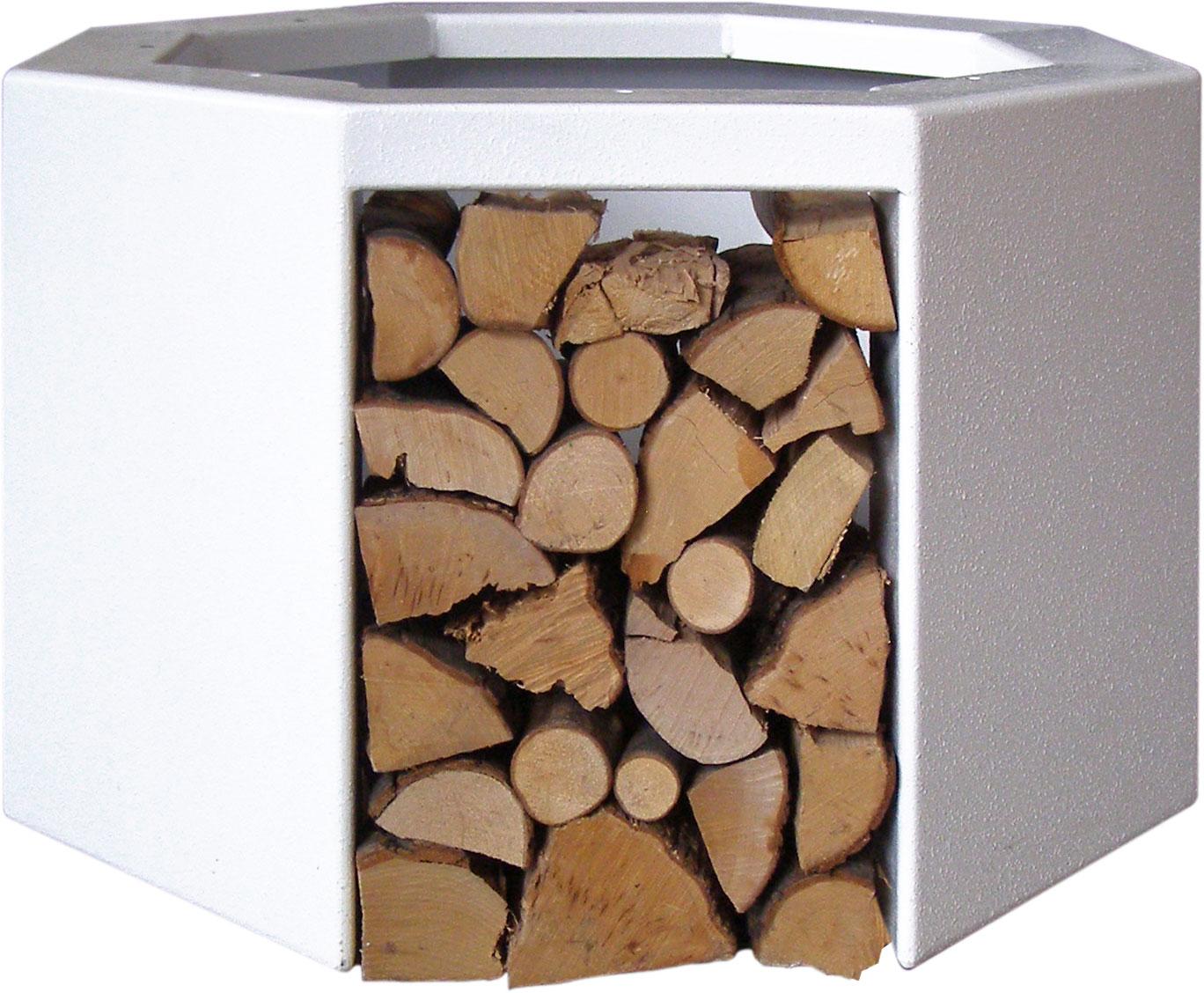 Supporto per stufa a legna